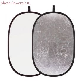 Отражатель Mingxing серебро / белый 100x150см