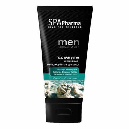 Oчищающий гель для мужчин для всех типов кожи SpaPharma (Спа Фарма) 150 мл
