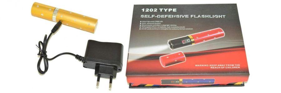 Фонарь-электрошокер 1202 Type