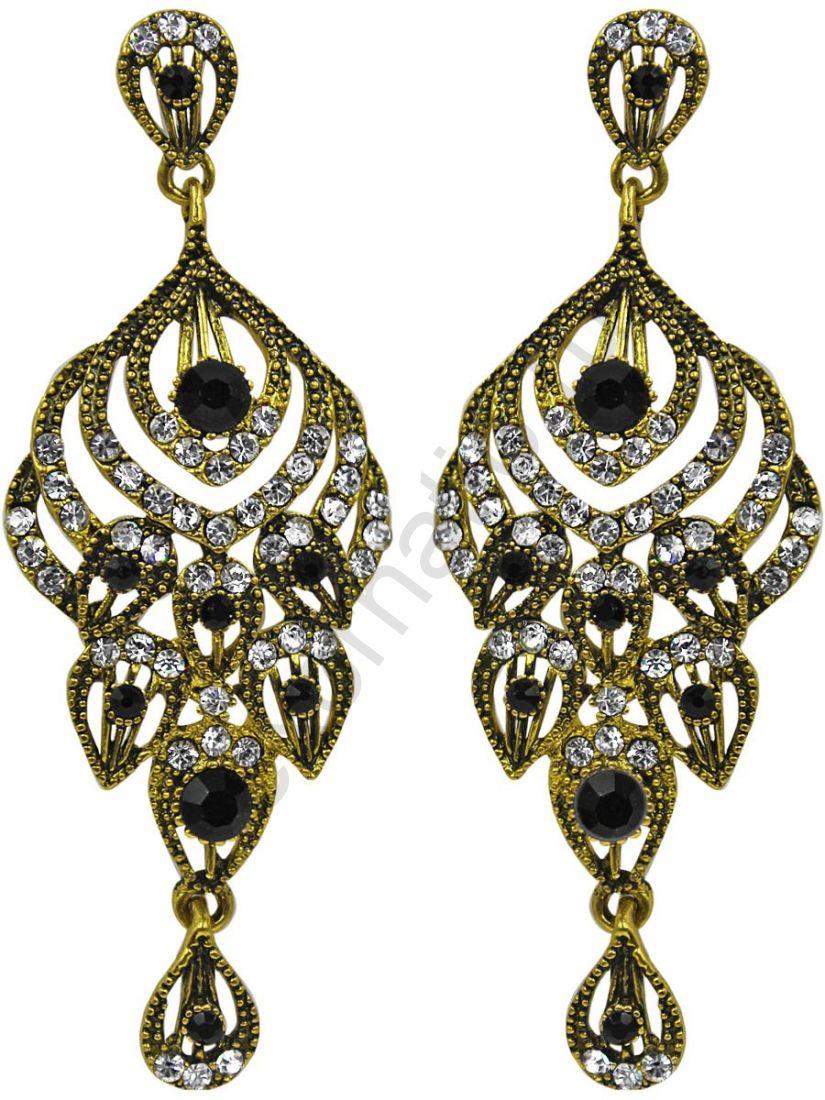 Серьги Taya LX. 11383-EARR-D.GOLD