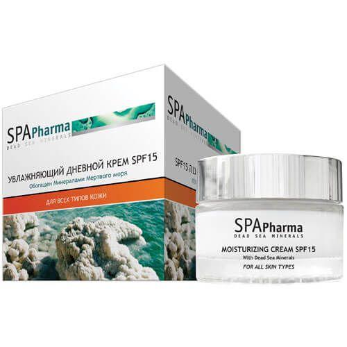 Увлажняющий дневной крем для лица SPF15 SpaPharma (Спа Фарма) 50 мл