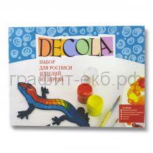 Краски акриловые Dekola набор Ящерица ЗХК9541286