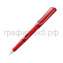 Ручка перьевая Lamy Safari красный EF 016