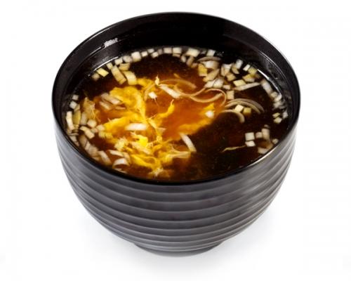 Мисо-суп с лапшой удон