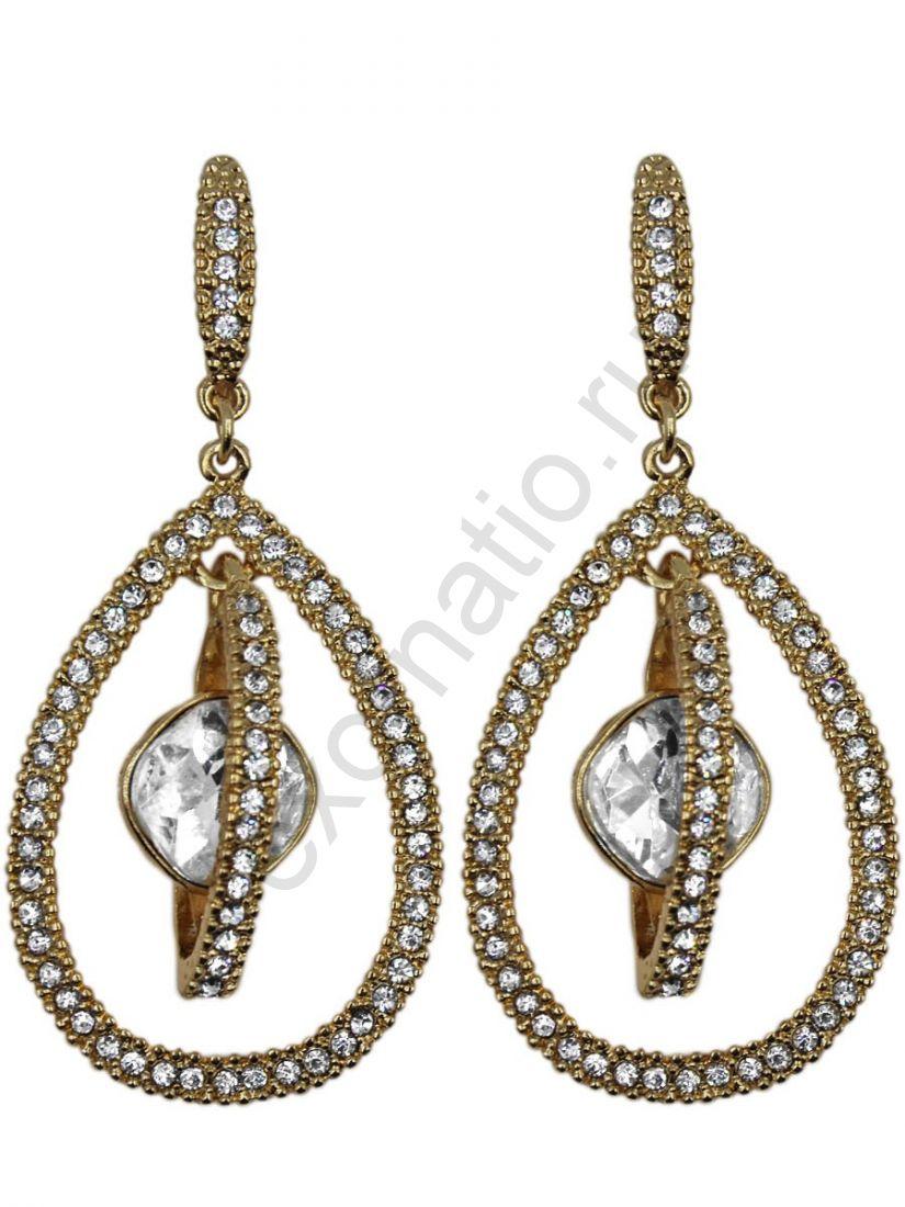 Серьги Taya LX. 11350-EARR-GOLD