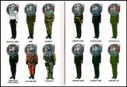 Набор 1 рубль 2014 год Защитник отечества, цветные + альбом