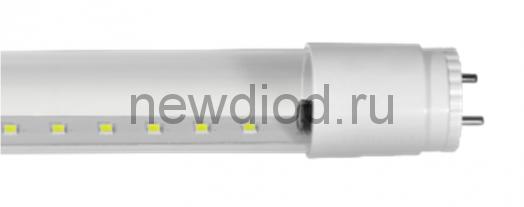 Лампа светодиодная LED-T8R-std 10Вт 160-260В G13 4000К 800Лм 600мм прозрачная