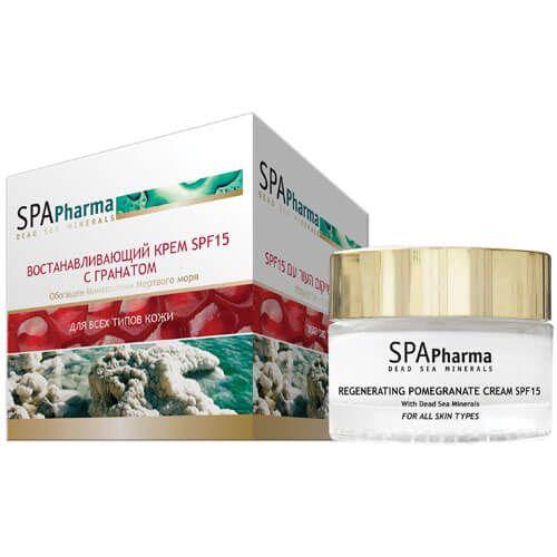 Восстанавливающий крем SPF15 с гранатом SpaPharma (Спа Фарма) 50 мл