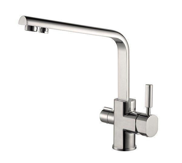Kaiser Decor 40144-5 Silver Смеситель для кухни под фильтр Серебро