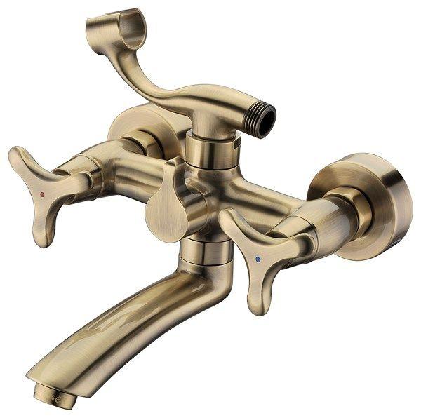 Kaiser Trio 57122-1-Br Смеситель для ванны с коротким изливом