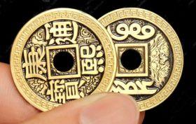 Flipper Coin - Китайская монета (размер Half Dollar)