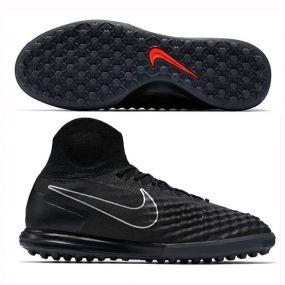 Шиповки-сороконожки Nike MagistaX Proximo II TF чёрные