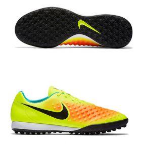 Шиповки-сороконожки Nike Magista Onda II TF салатовые