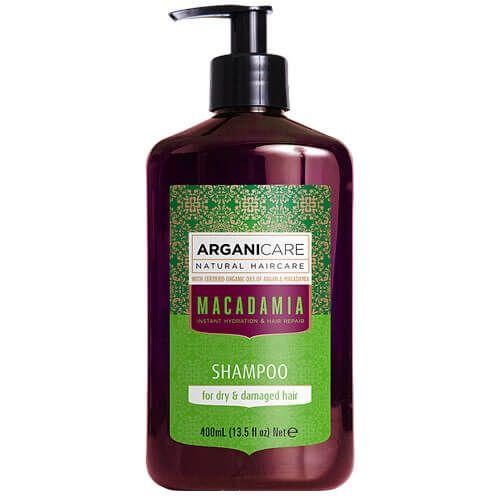 Шампунь для сухих и поврежденных волос с маслом Макадамии ArganiCare (АрганиКеа) 400 мл