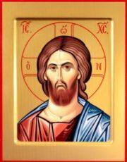 Спас Оплечный (рукописная икона)