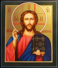 Икона Спас Вседержитель (рукописная)