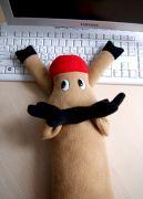 мягкая игрушка - подушка для клавиатуры