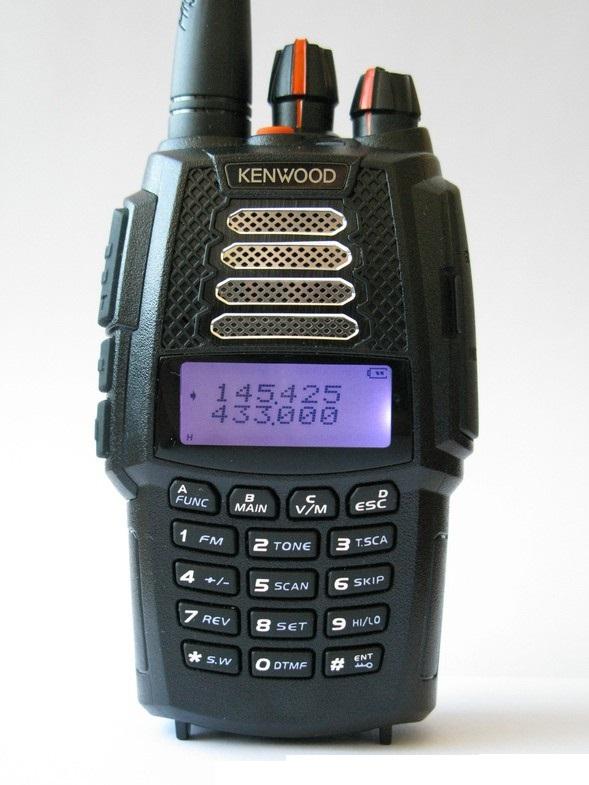Рация Kenwood UVF-1 Turbo (136-174 МГц и 400-480 МГц)