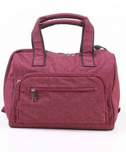 Бордовая женская сумка Медведково