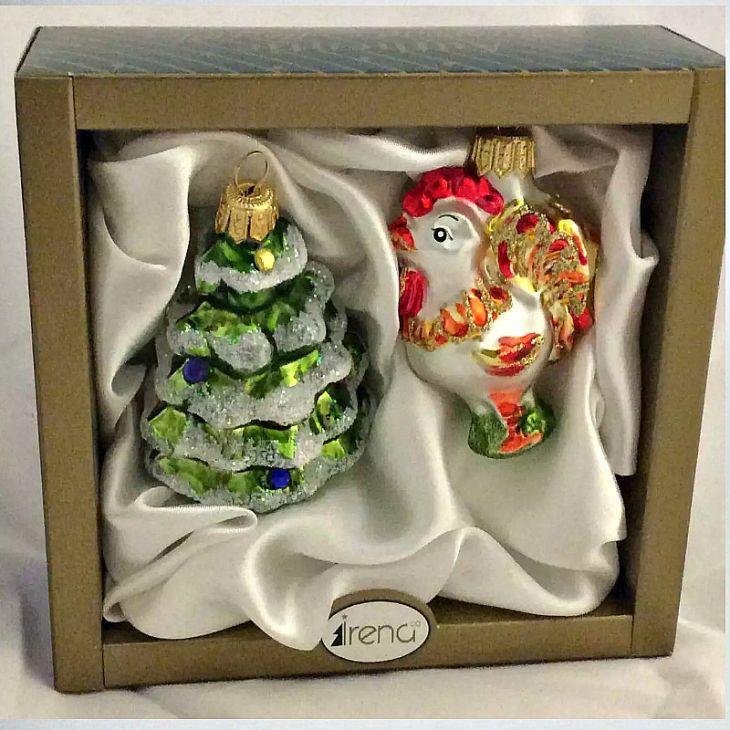 Ёлочные игрушки набор подарочный, Irena Co (Vitus)