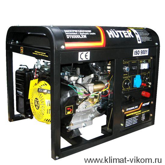 Электрогенератор DY6500LXW, с функцией сварки, с колесами 64/1/18