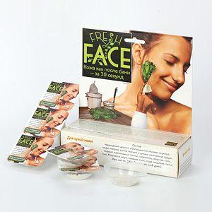 """Бьюти"" Скраб Fresh Face для сухой кожи, 18 гр, 6 процедур"