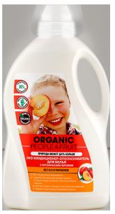 Кондиционер-ополаскиватель для белья ЭКО с органическим персиком 1500 мл Organic People & Fruit