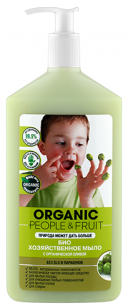 Мыло хозяйственное-БИО с органической оливой 500 мл Organic People & Fruit