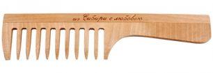 """""""Тимбэ"""" Расческа РД3301, с ручкой, редкий зуб"""