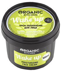 """Крем-увлажнение для лица """"Wake up"""" Organic Kitchen"""