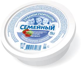 """""""fk"""" Зубной порошок """"Семейный"""", 75г"""