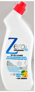 Гель для мытья туалета морская соль сок лимона Zero