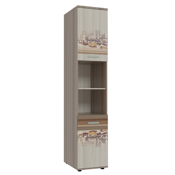 Шкаф «Манхэттен» комбинированный