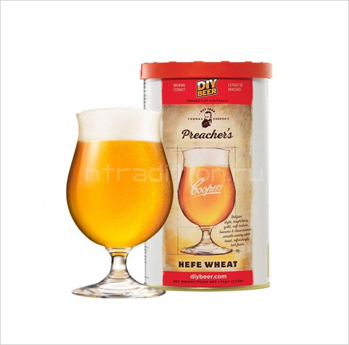 Coopers Preachers HefeWheat, 1,7 кг