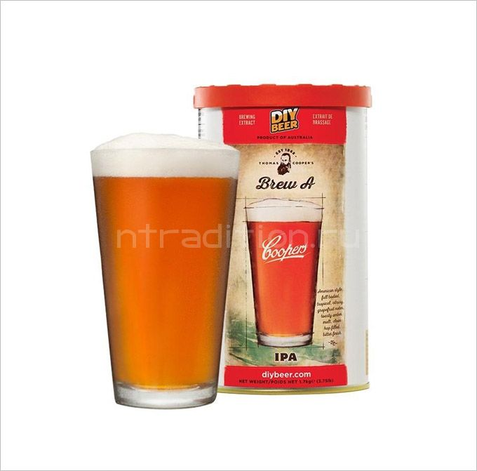 Coopers India Pale Ale, 1,7 кг