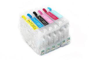 Комплект перезаправляемых картриджей для EPS R200 (белая упаковка)