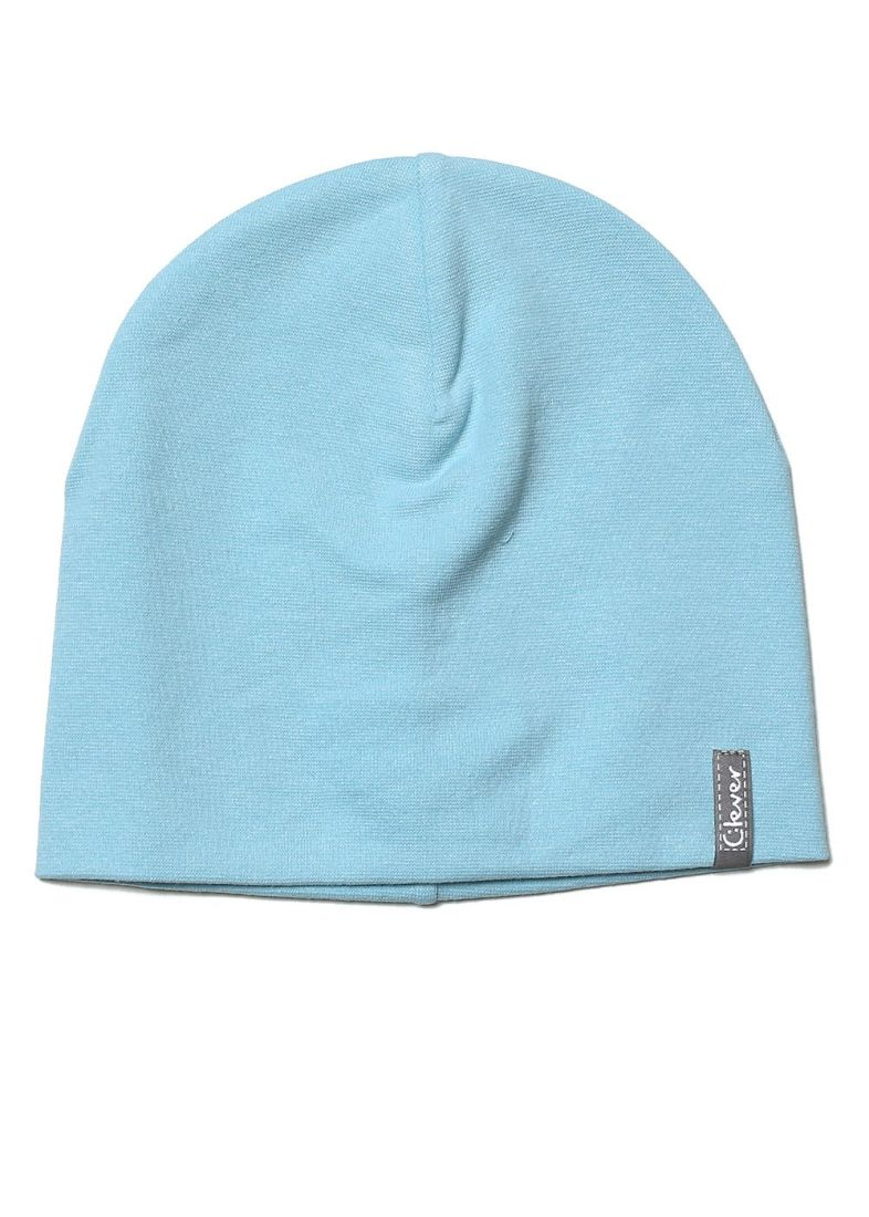 Голубая шапка для мальчика на 5-7 лет
