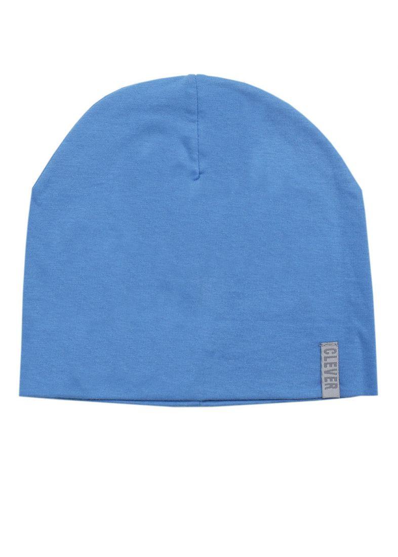 Голубая шапочка для мальчика Clever