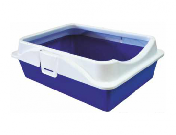 Туалет д/кошек RICH с рамкой на защелках