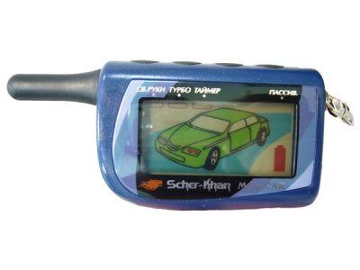 Брелок для сигнализации LCD Scher-Khan M4