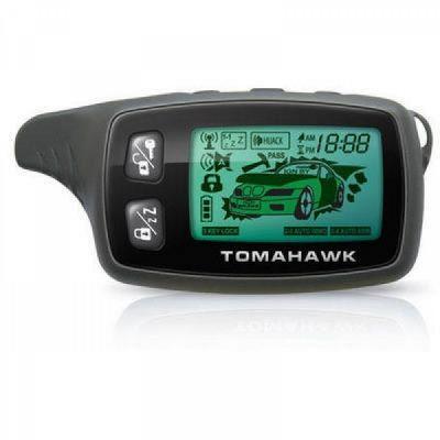 Брелок для сигнализации LCD Tomahawk TW9030