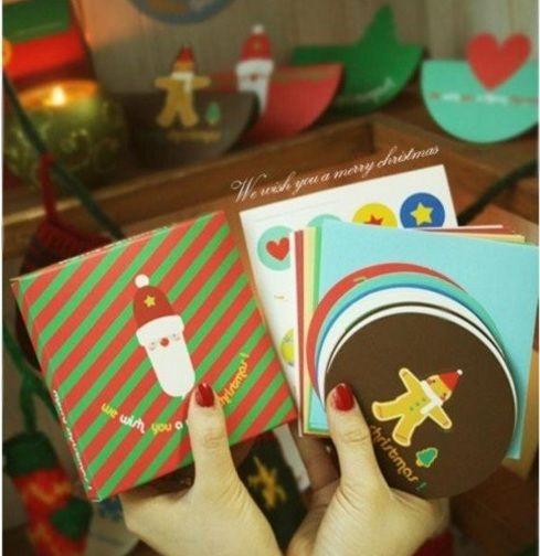 Набор новогодних мини-открыток «Christmas Card Set»