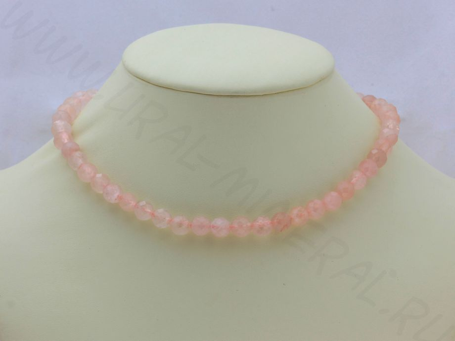 «Нежное дитя» Кварц розовый