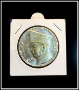 Жетон 5 марок 1935 Адольф Гитлер. Посеребреная бронза Пруф