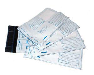 Пластиковый пакет с логотипом Почта России Тип С6 (114 х 162 мм), 1уп = 10шт