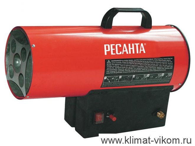Тепловая газовая пушка ТГП-10000 67/1/20