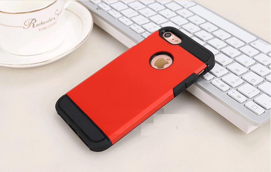 Чехол  для iPhone 7/8 Tough Armor (красный)
