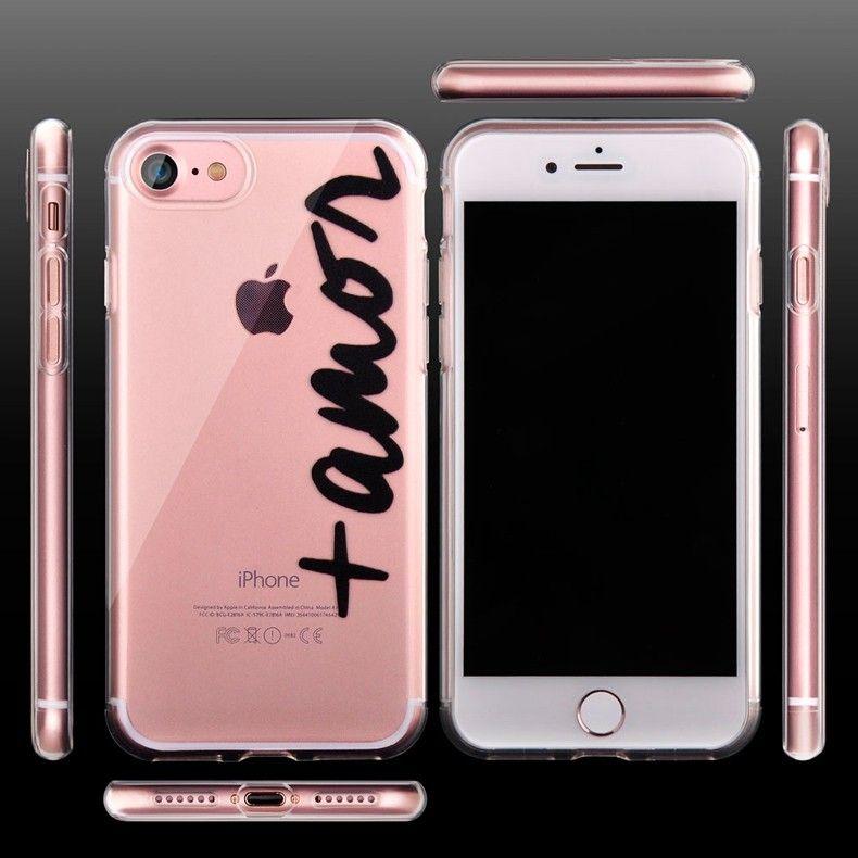Силиконовый чехол для iPhone 6/6s (Amor)