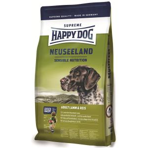Корм сухой Happy Dog Neuseeland для собак мелких пород с ягненком и рисом 1кг