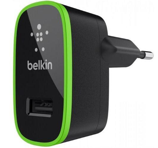 Belkin Home Charger 2.1 А (F8J052cwBLK) - универсальное сетевое зарядное устройство (Black)